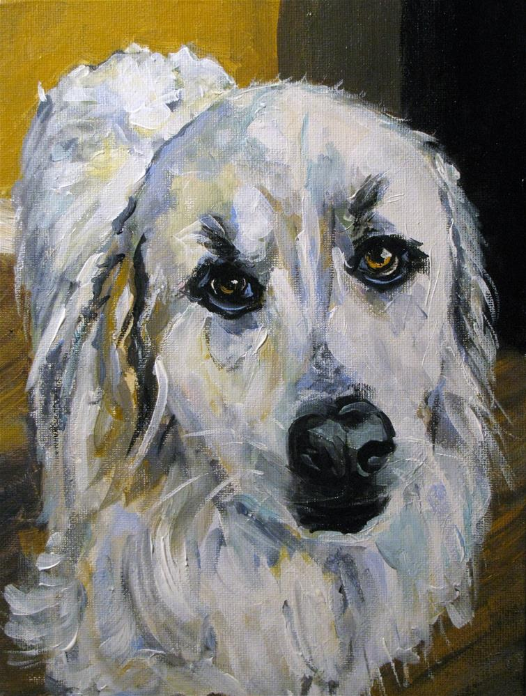 """Delilah"" original fine art by Susan Elizabeth Jones"