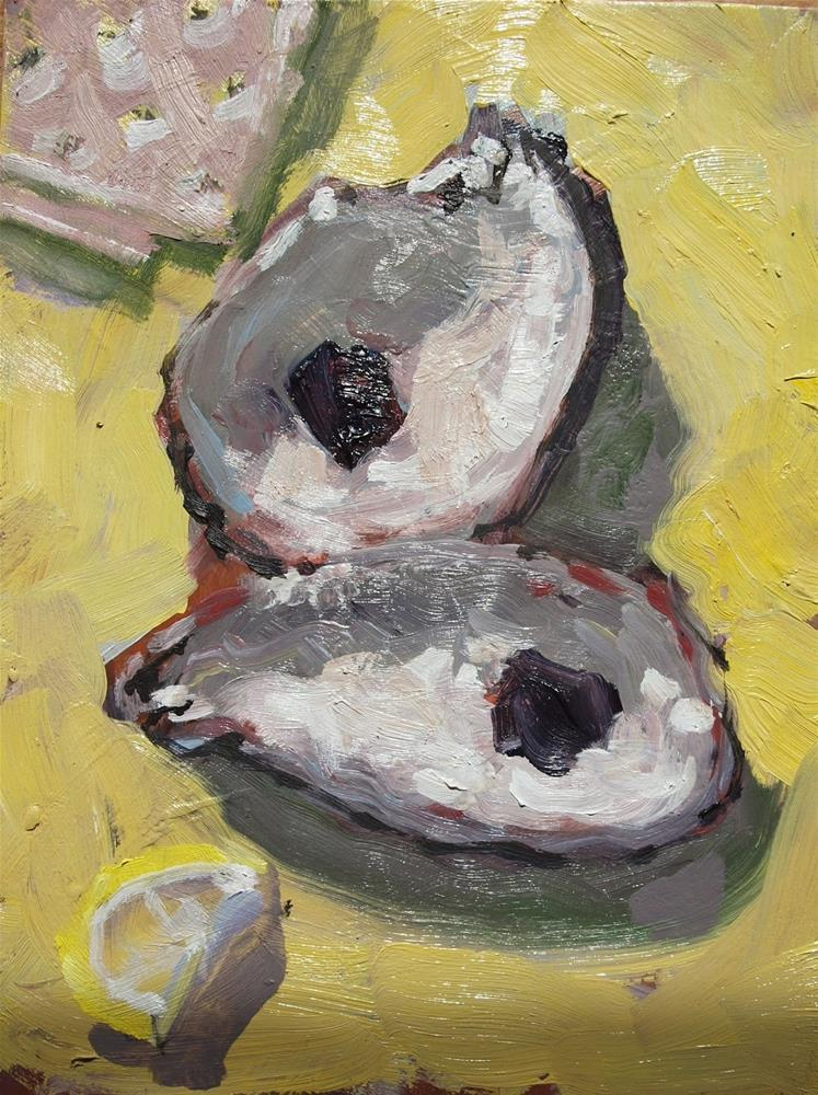 """Oyster 2"" original fine art by Rick Nilson"