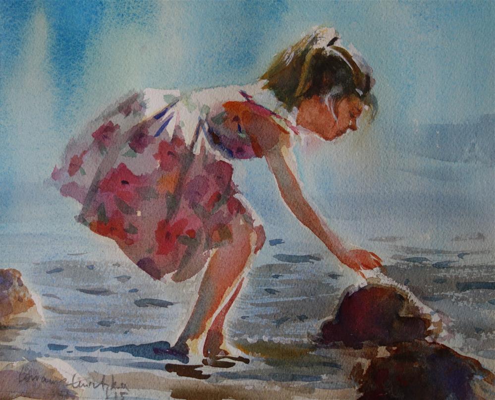 """Seashells"" original fine art by Lorraine Lewitzka"