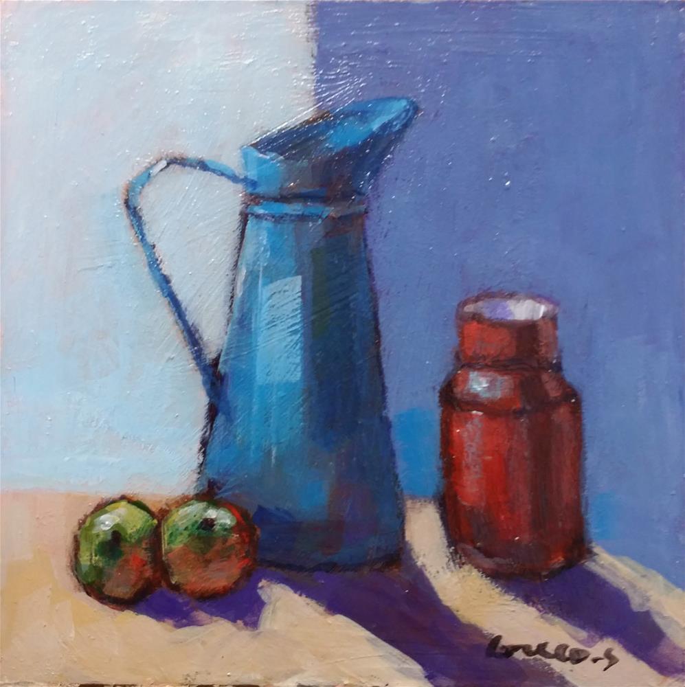 """""""still life"""" original fine art by salvatore greco"""
