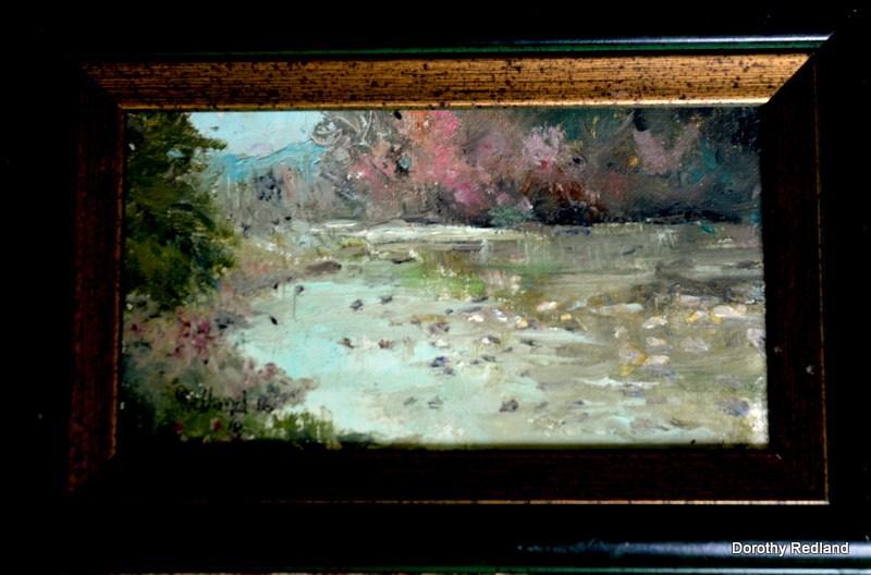 """""""Frio fall"""" original fine art by Dorothy Redland"""