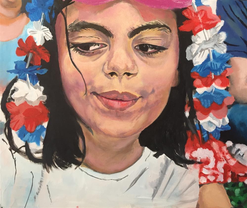 """""""Fourth of July"""" original fine art by Garima Heath"""