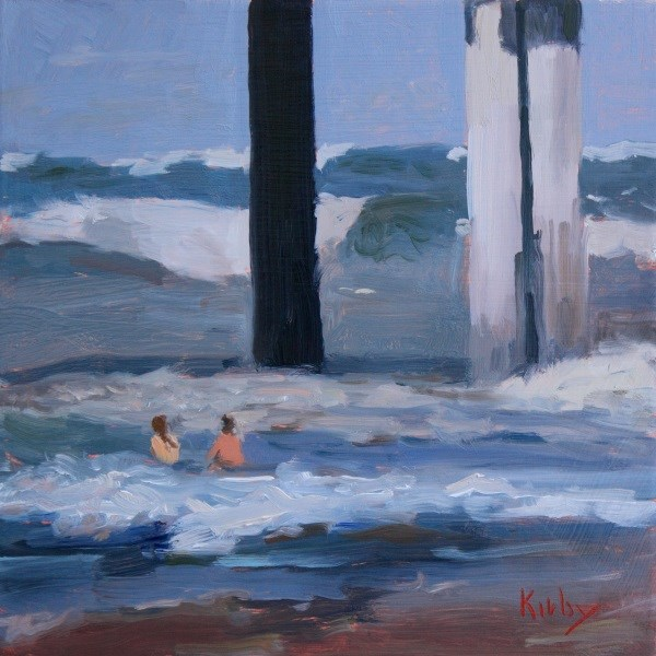 """Big Breakers"" original fine art by Randall Cogburn"