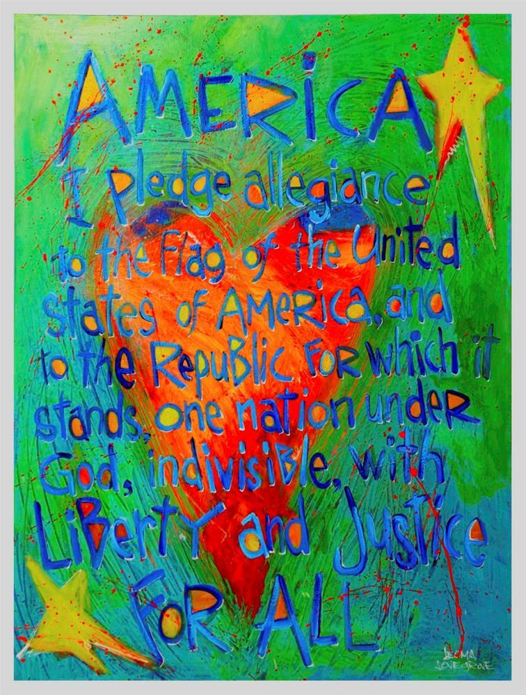 """Loyalty"" original fine art by Leoma Lovegrove"