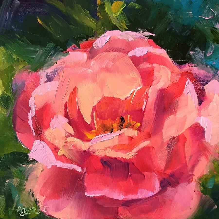 """""""Rose"""" original fine art by Andrea Jeris"""