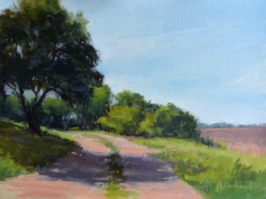 """Beckoning Path"" original fine art by Laurel Daniel"