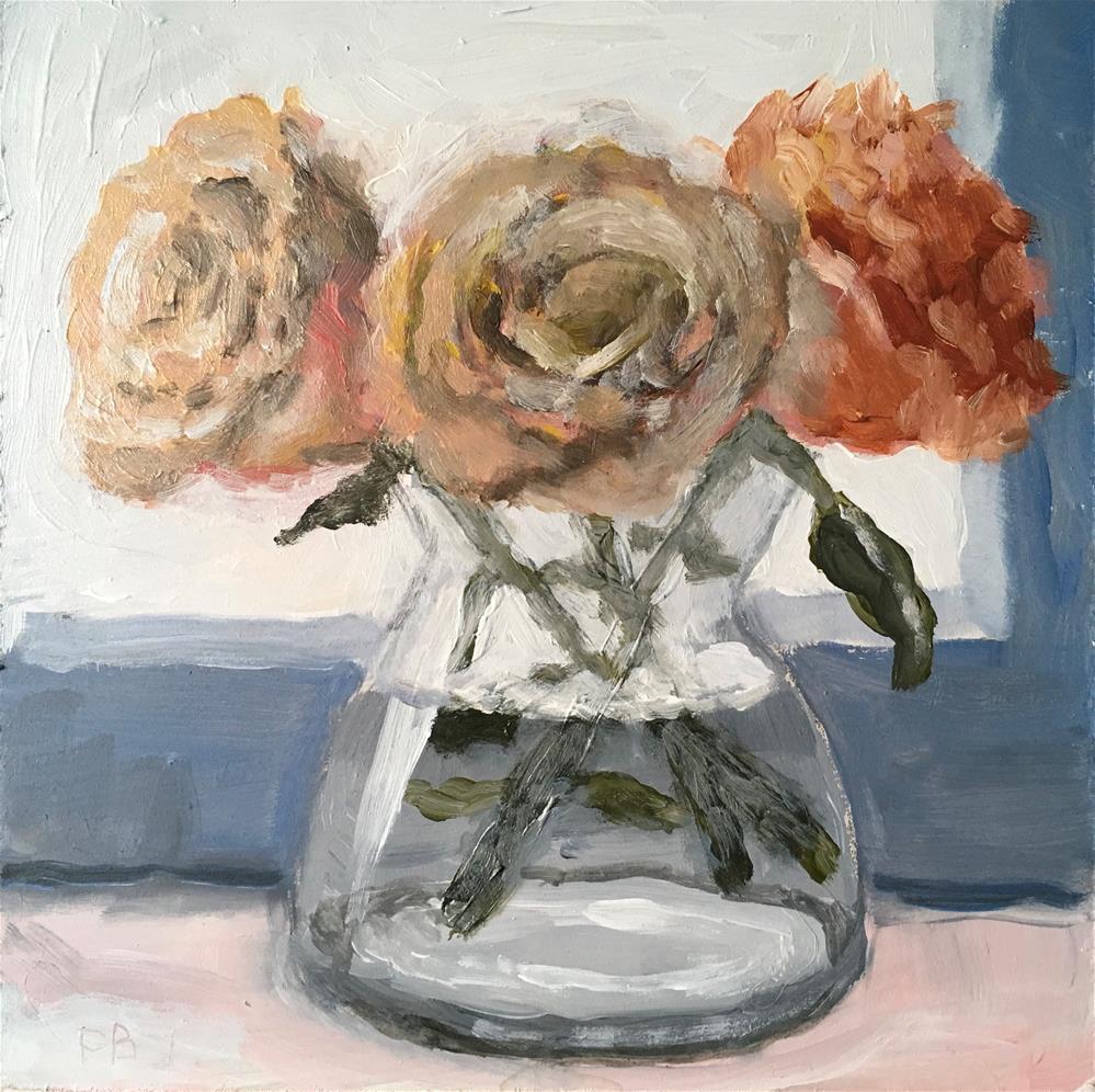 """251 Three In. Vase"" original fine art by Fred Bell"
