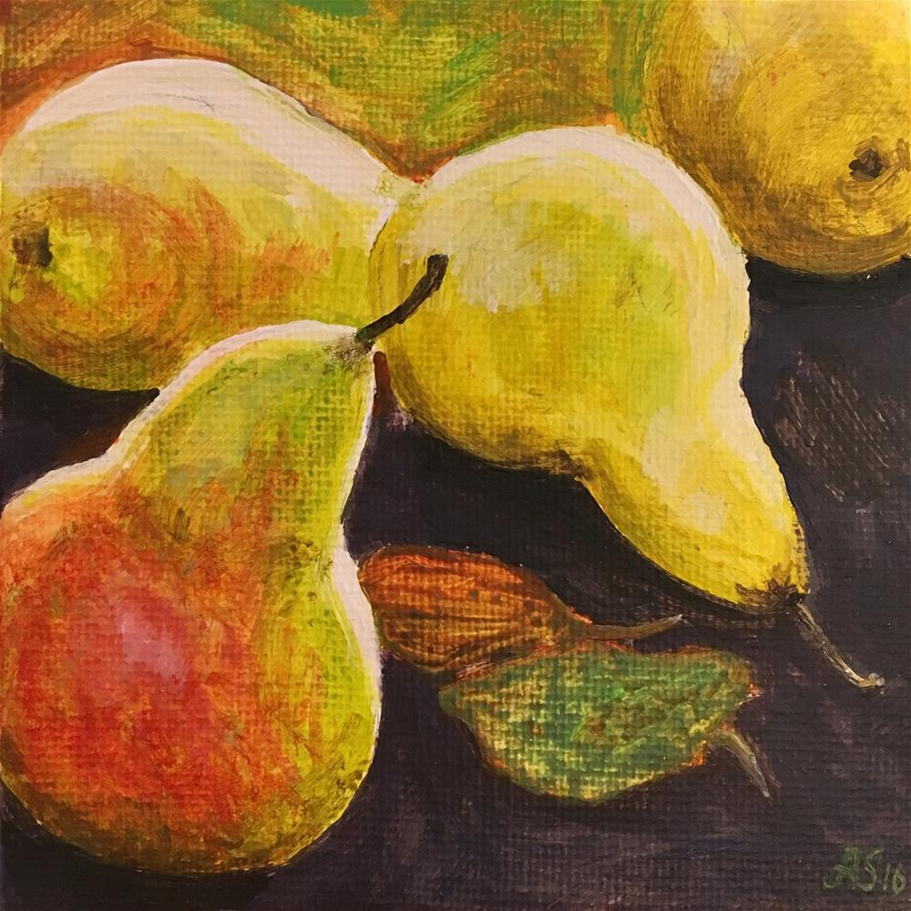 """Harvest II"" original fine art by Anna Starkova"