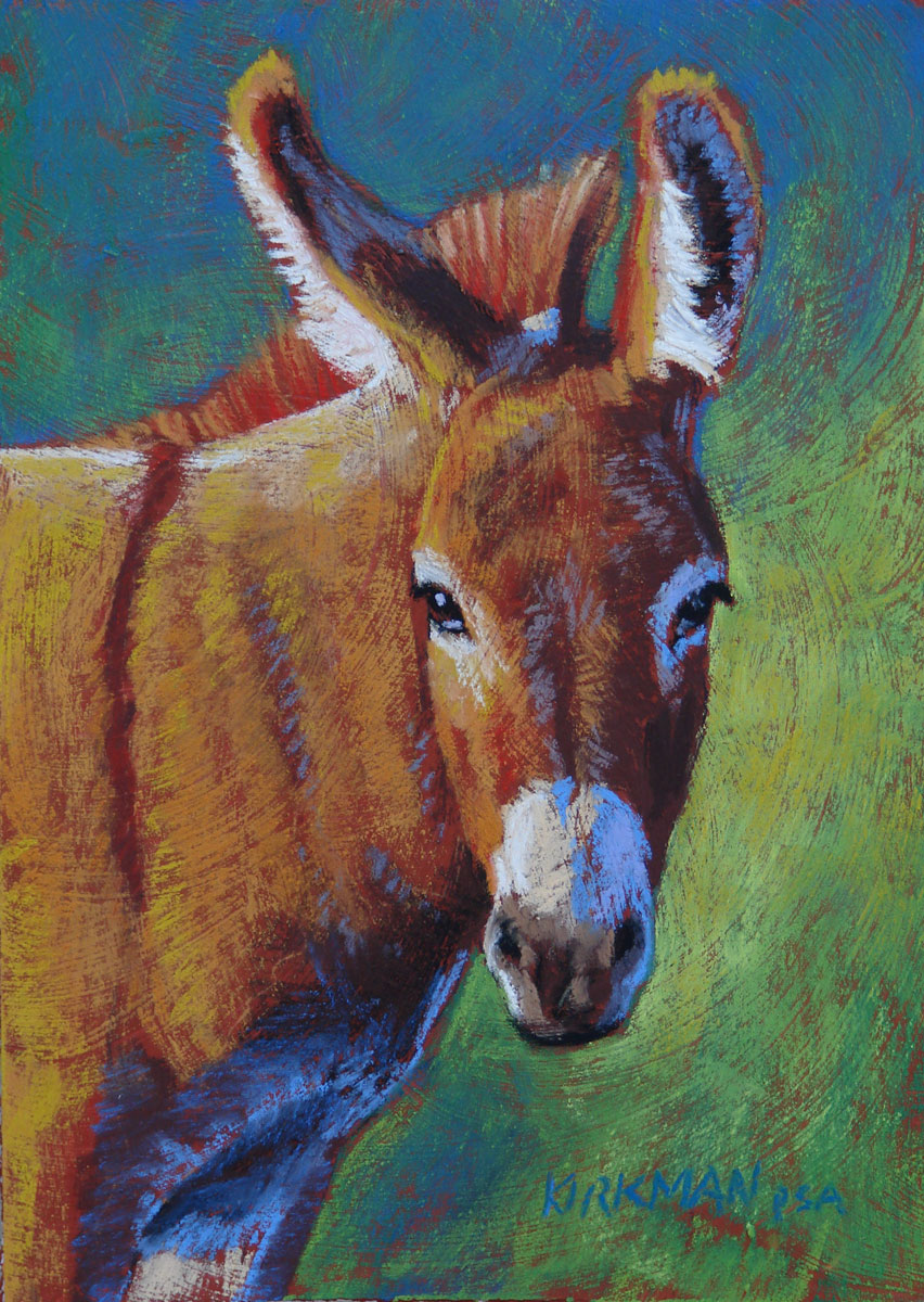 """Cinnamon"" original fine art by Rita Kirkman"