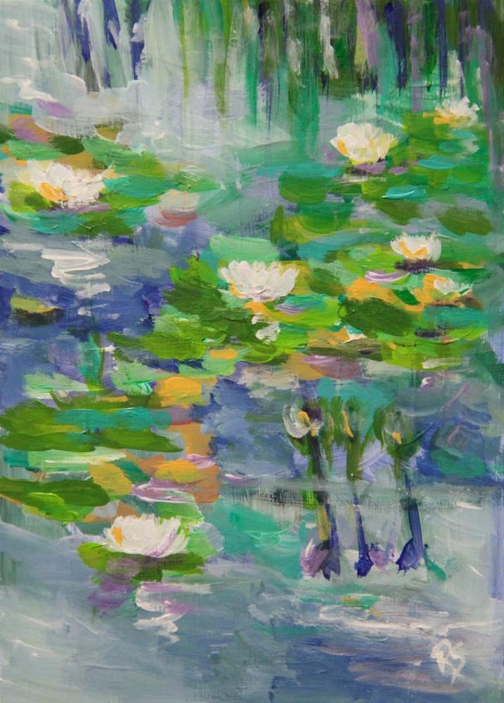 """Simplicity"" original fine art by Roberta Schmidt"