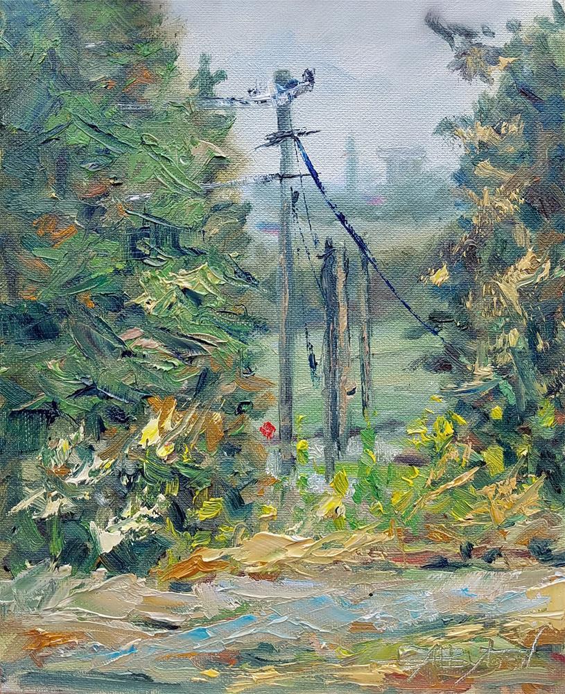 """Alabama_1"" original fine art by Gabriella DeLamater"