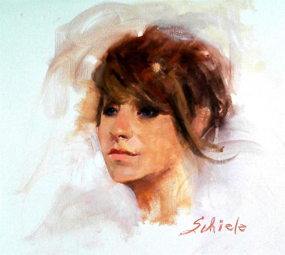 """""""Tori Rose"""" original fine art by Richard Schiele"""