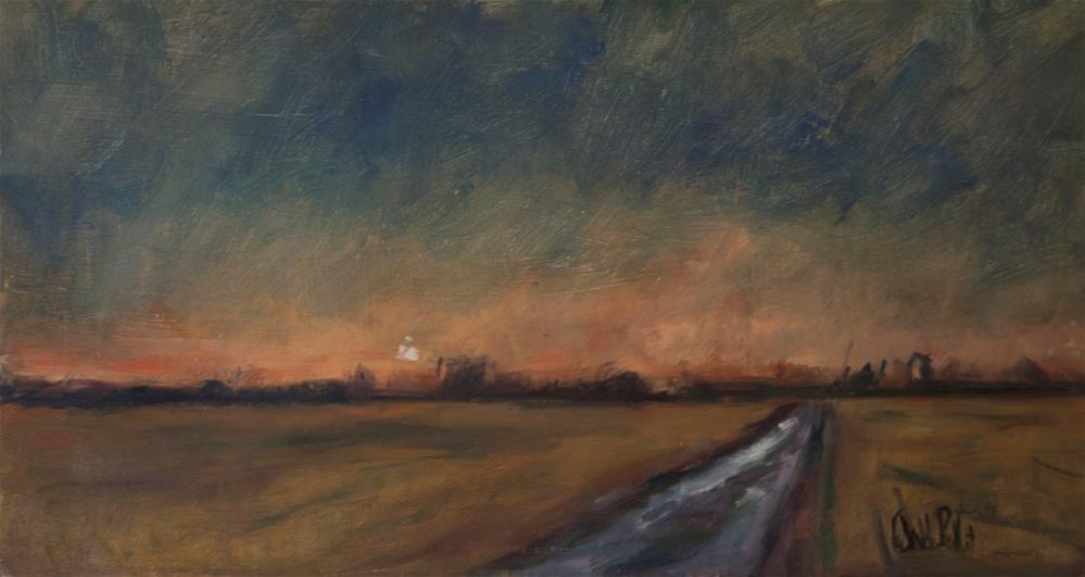 """Track with Dark Sky"" original fine art by Andre Pallat"