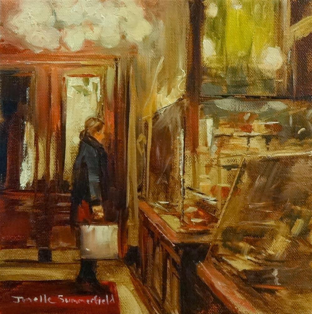 """Demel of Vienna III"" original fine art by Jonelle Summerfield"