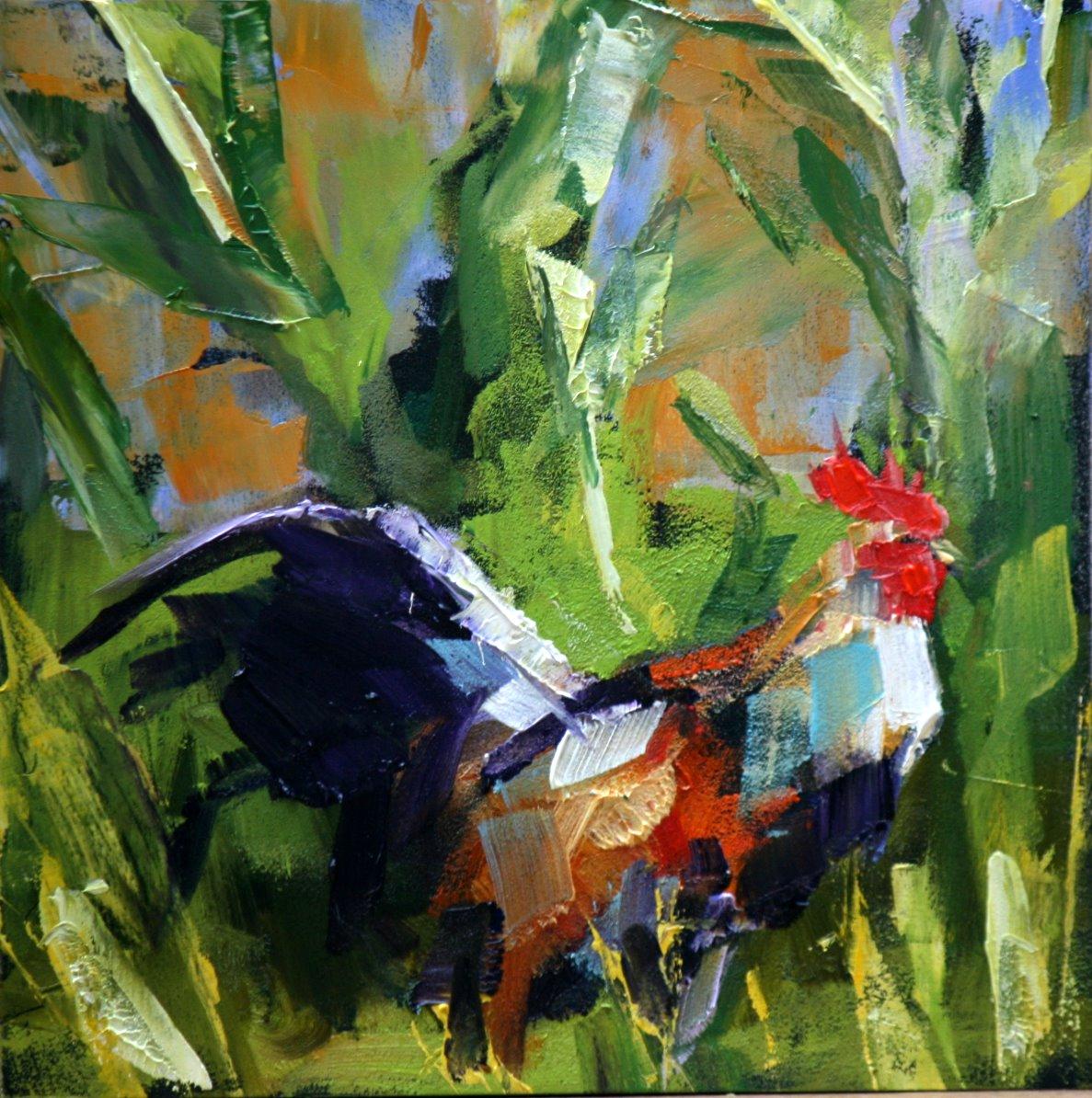 """morning sun"" original fine art by Carol Carmichael"