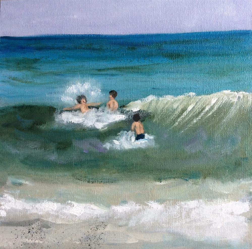 """The Guys 2"" original fine art by Patty Barnes"