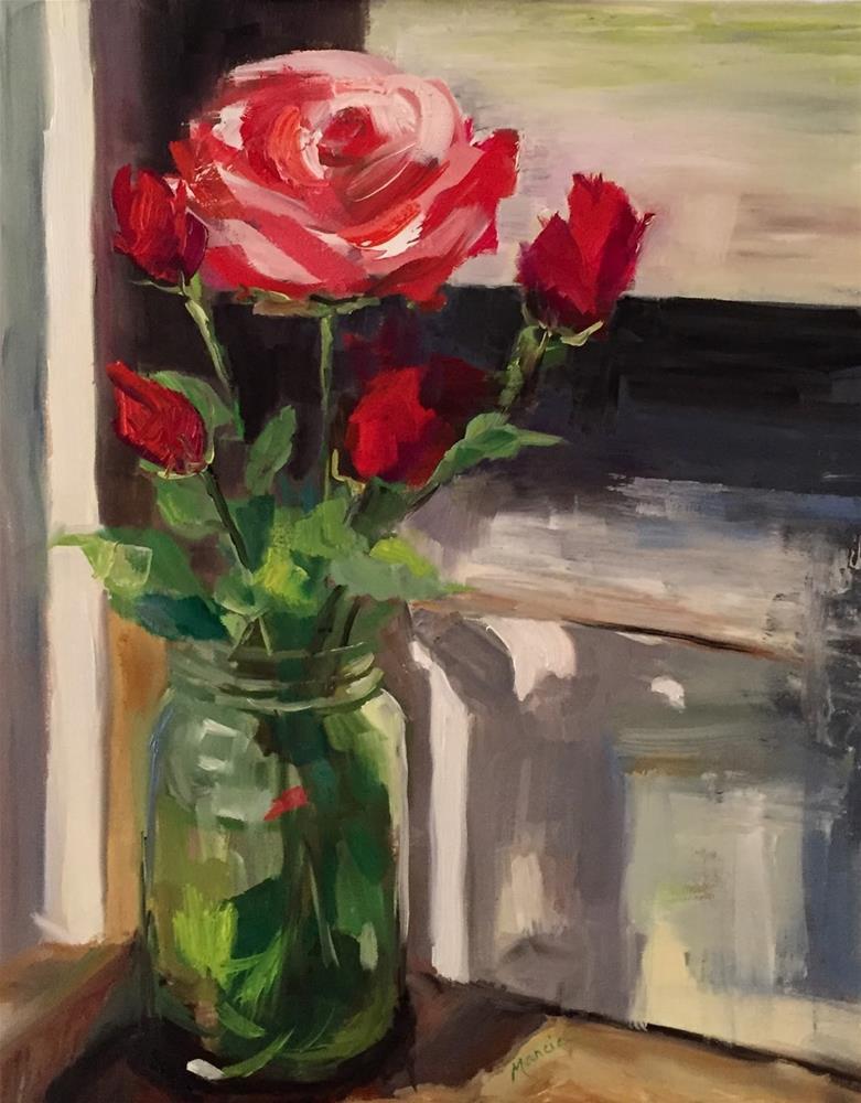 """My Favorite Vase"" original fine art by Marcia Hodges"