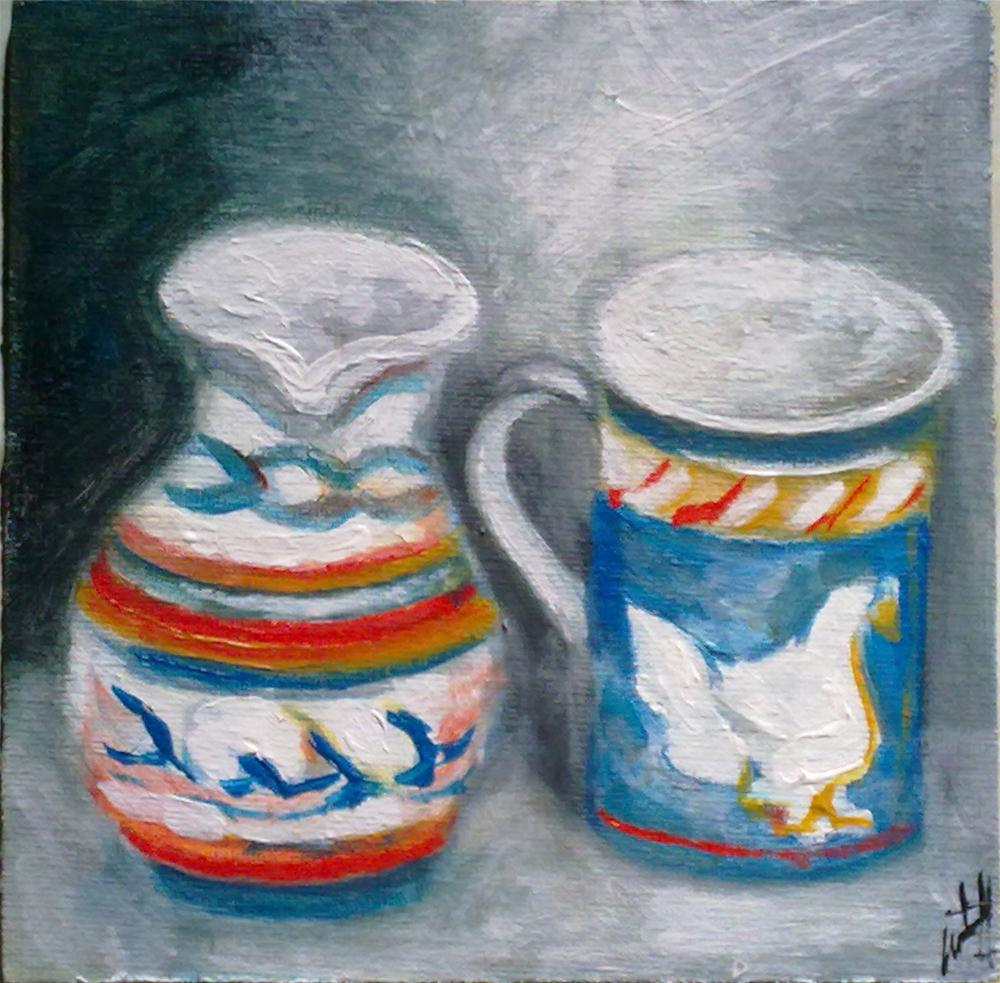 """Ceramics"" original fine art by Monica Pinotti"