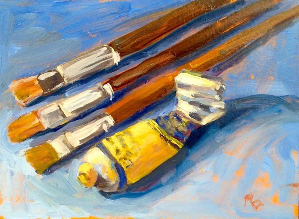 """My Tools"" original fine art by Marcia Bergtholdt"