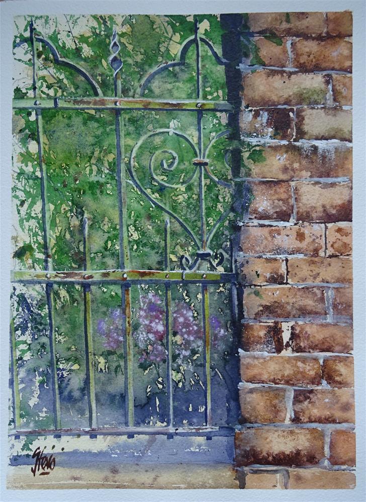 """The Missing Link"" original fine art by Martin Stephenson"