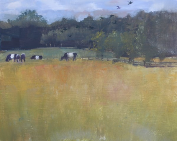 """Herd and Flock"" original fine art by Beth Bathe"