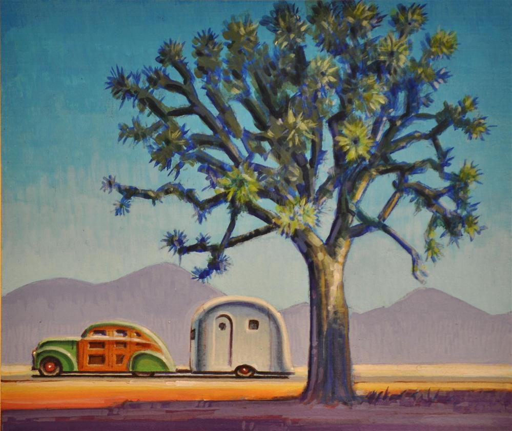 """Joshua Tree"" original fine art by Robert LaDuke"