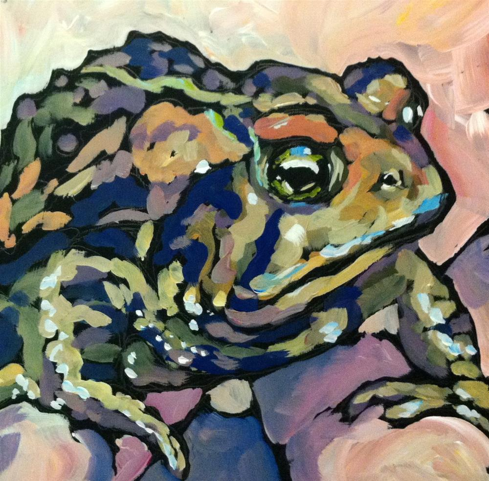 """Toad At Joe's"" original fine art by Kat Corrigan"