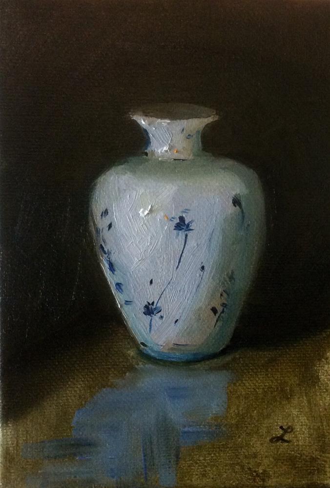 """Vase"" original fine art by Lori Jacobs - Farist"