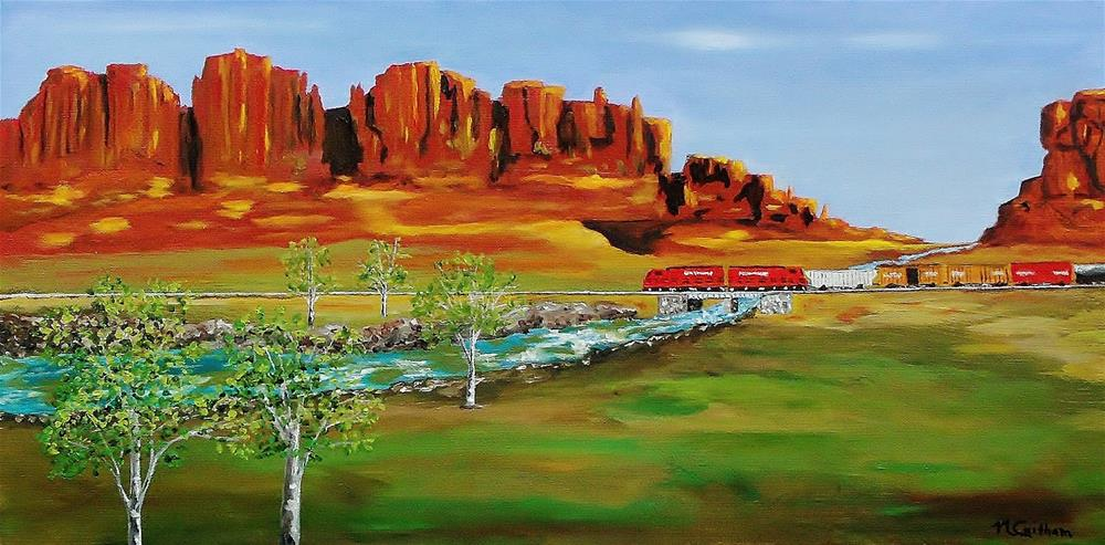 """Grandiose West"" original fine art by Mike Caitham"