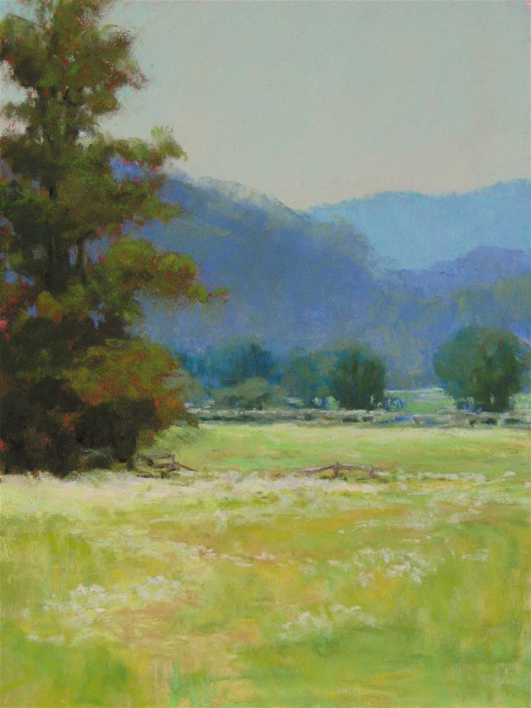 """Summer Pasture"" original fine art by Marsha Savage"