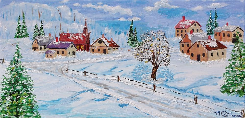 """Winter Day"" original fine art by Mike Caitham"
