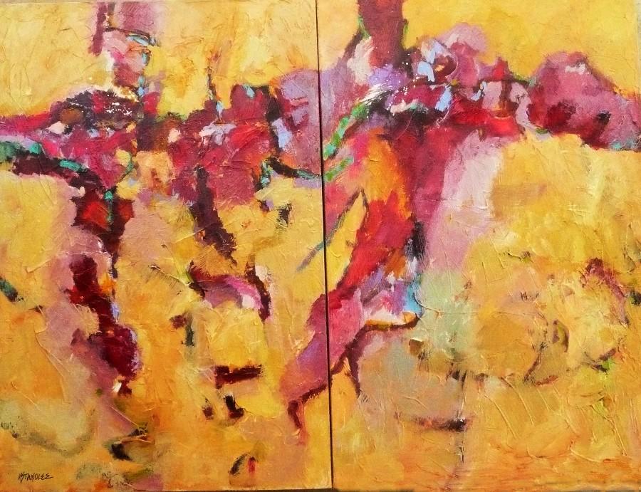 Calypso Dreams 11047 original fine art by Nancy Standlee