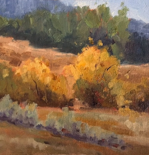 """Golden Autumn"" original fine art by Victoria  Biedron"