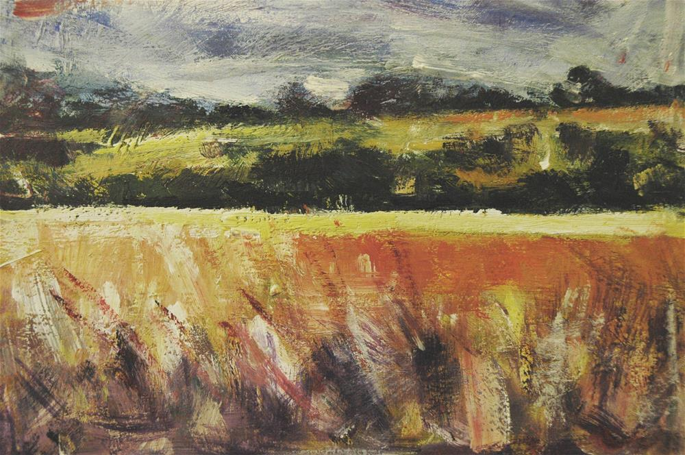 """The Downs"" original fine art by Andre Pallat"