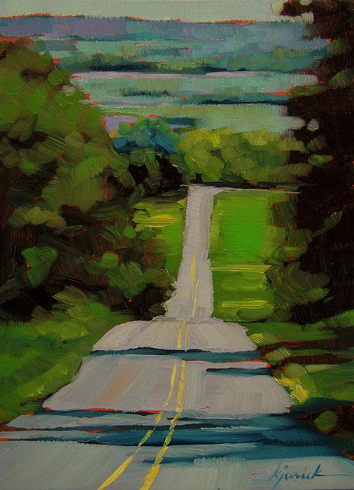 """Lancaster County"" original fine art by Karin Jurick"