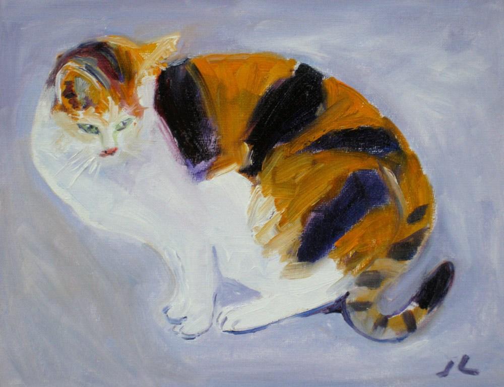 """""""Tiger 102"""" original fine art by Julia Lu"""