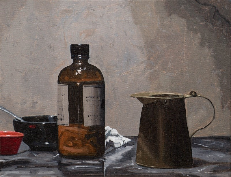 """Apothecary"" original fine art by Tim Gier"