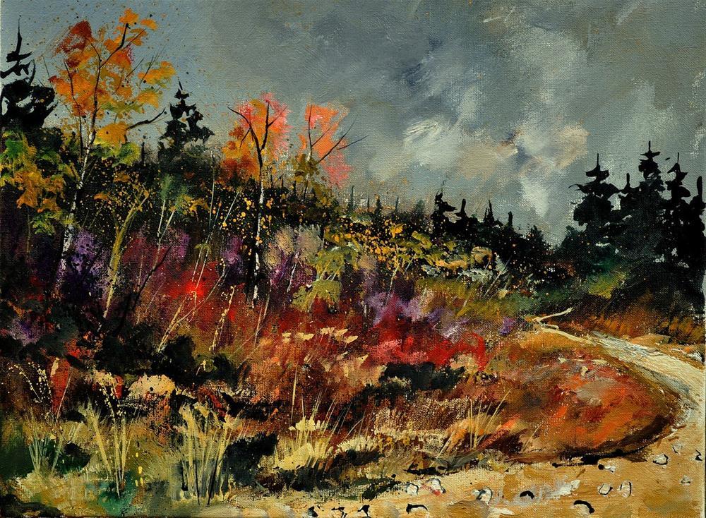 """""""autumn 450152"""" original fine art by Pol Ledent"""