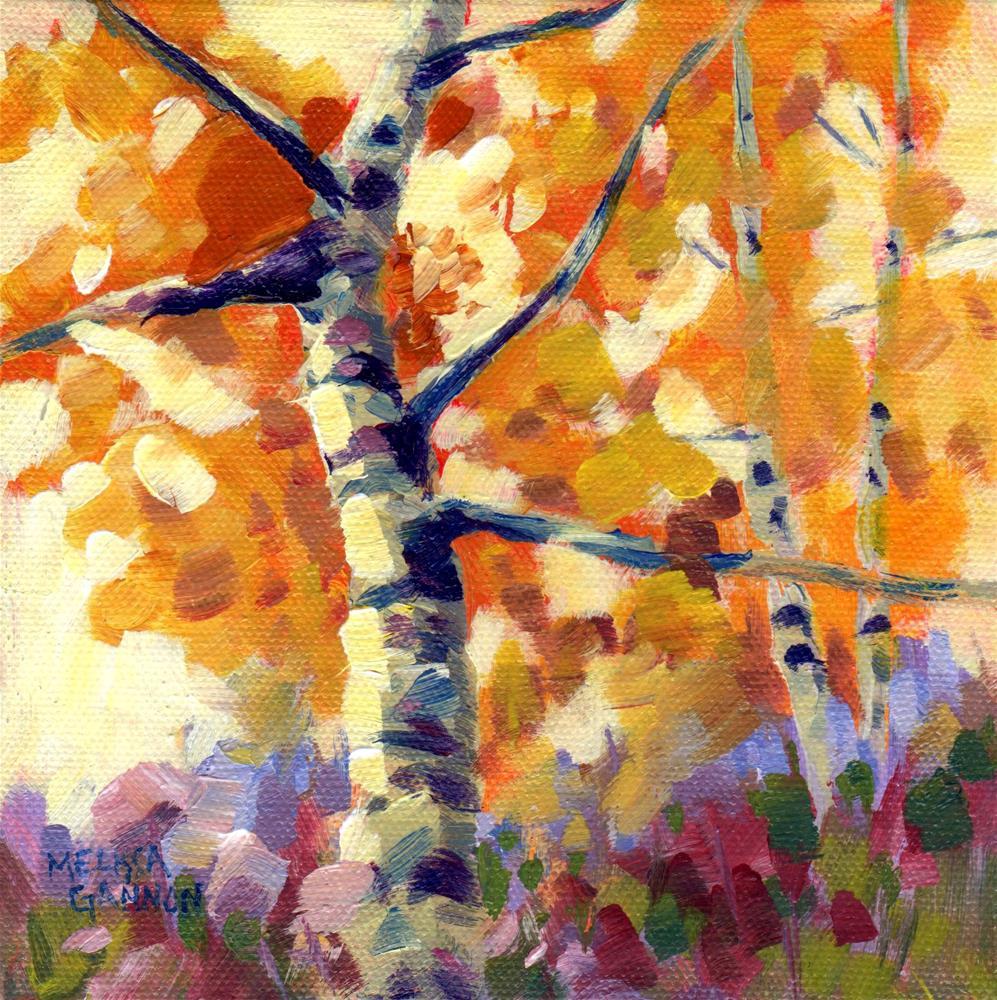 """""""Autumn Color Variations"""" original fine art by Melissa Gannon"""
