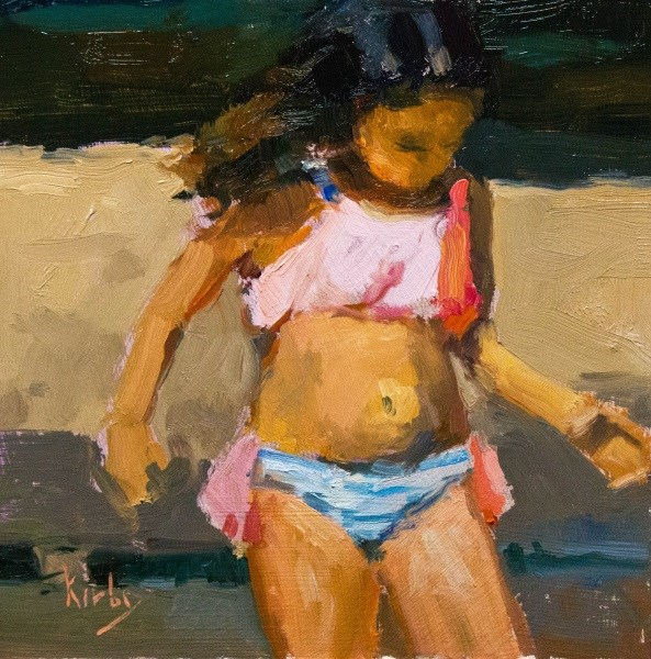 """Summer"" original fine art by Randall Cogburn"