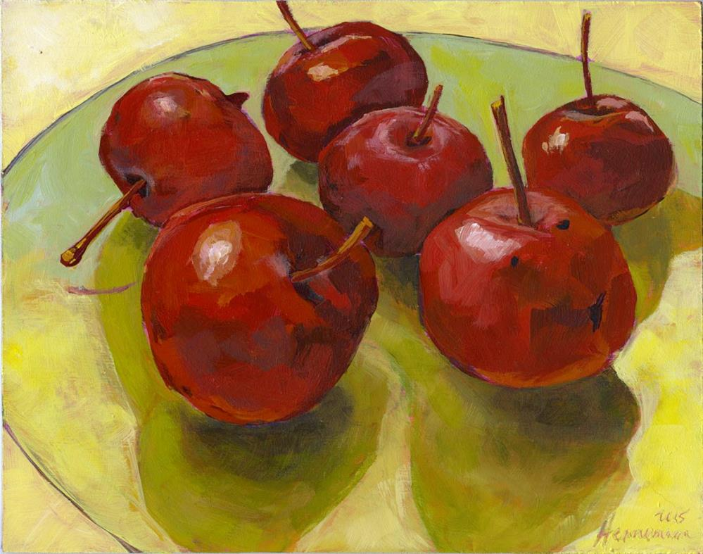 """These Are Not Cherries"" original fine art by Eileen Hennemann"