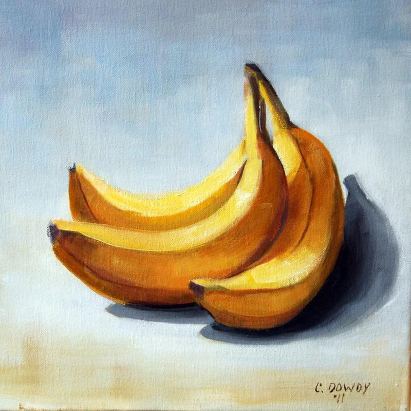 """""""Bananas"""" original fine art by Christina Dowdy"""