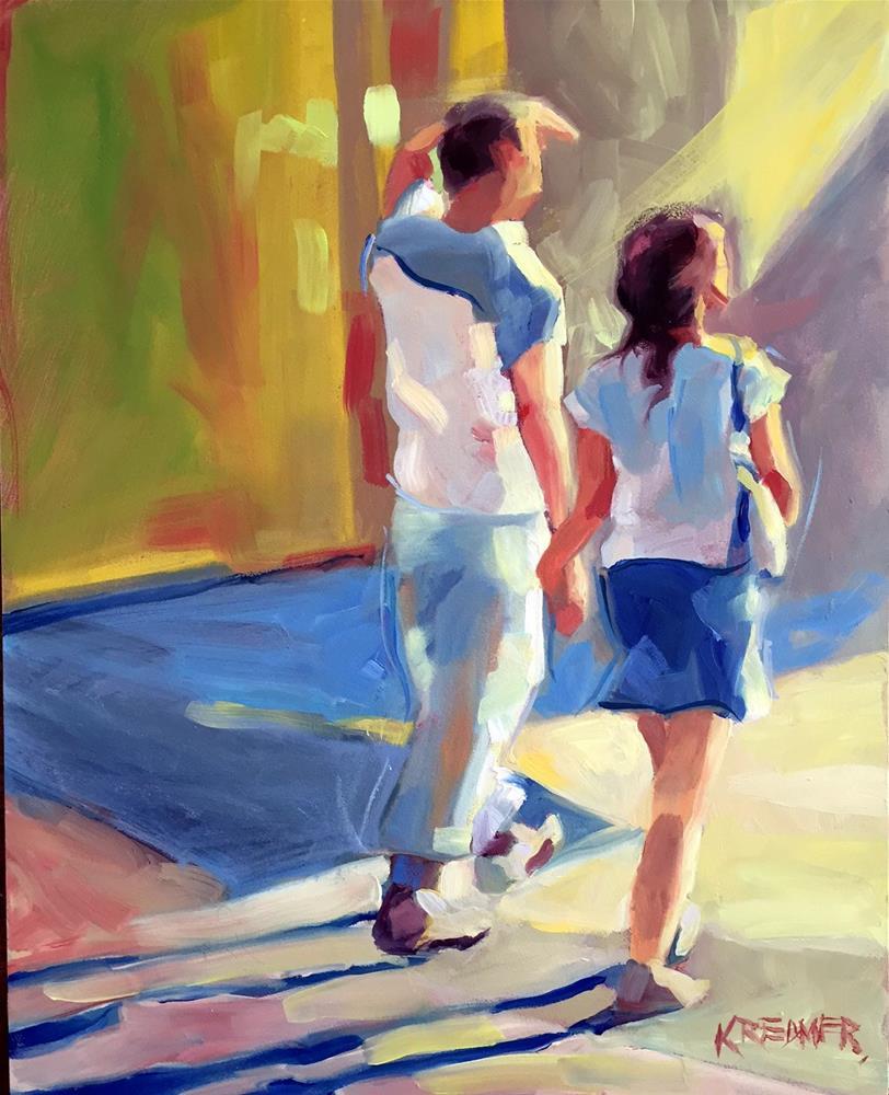 """Into the Light"" original fine art by Kathleen Redmer"