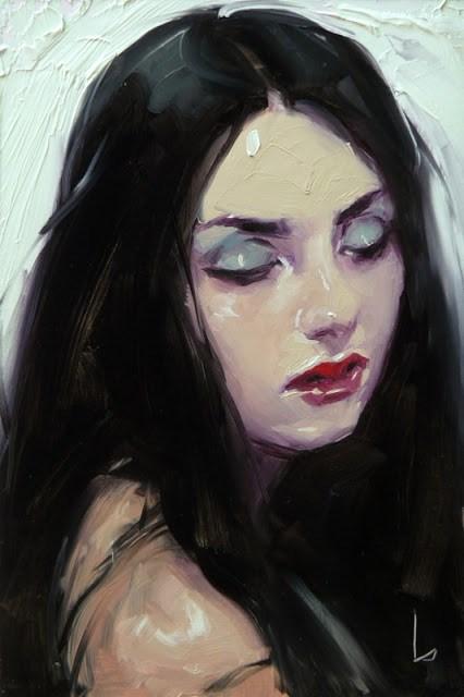 """Sleepwalk"" original fine art by John Larriva"