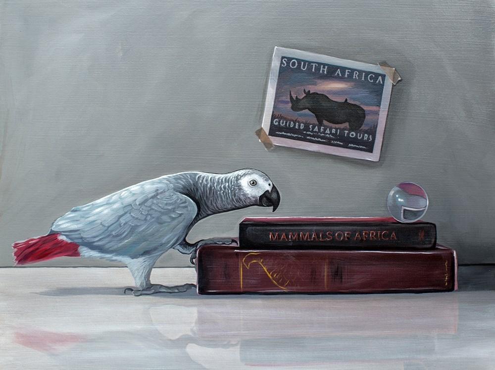 """""""Safari"""" original fine art by Lauren Pretorius"""