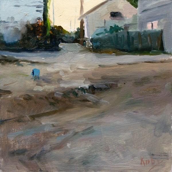 """Downtown"" original fine art by Randall Cogburn"