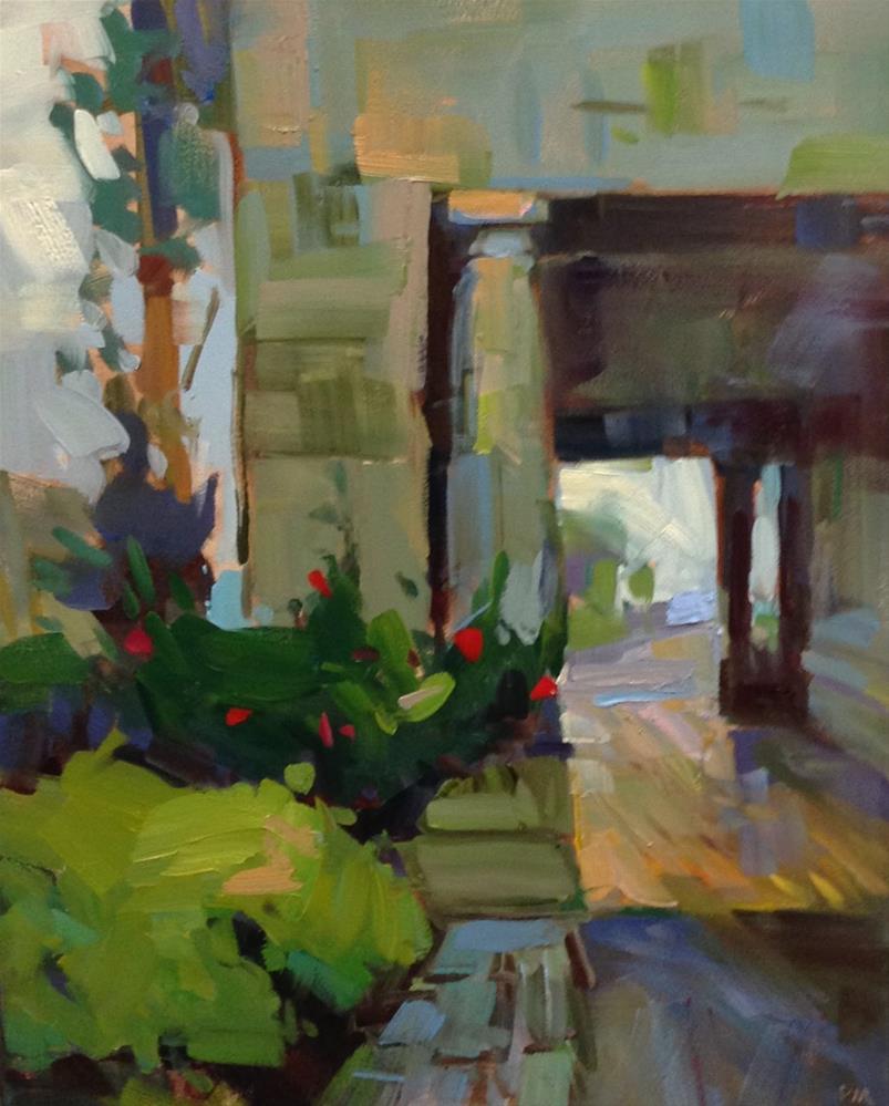 """Days of Yore, Pittock #1"" original fine art by Patti McNutt"