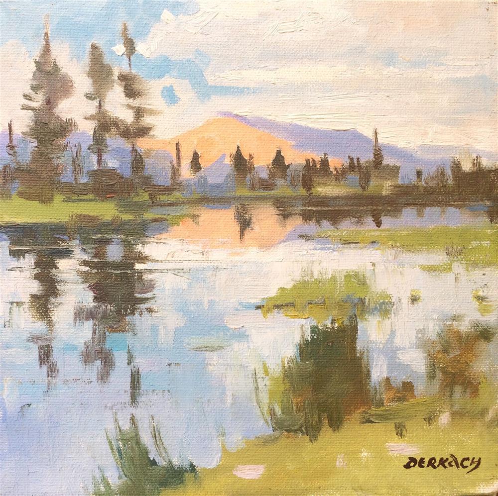 """""""Upper Sierra fresh day"""" original fine art by vladimir derkach"""