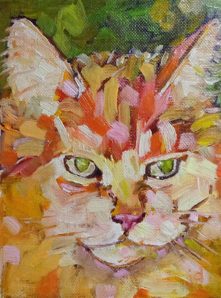 """Duchess"" original fine art by Jean Delaney"