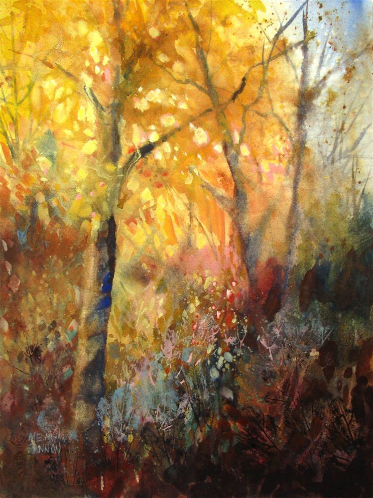 """Tangles"" original fine art by Melissa Gannon"